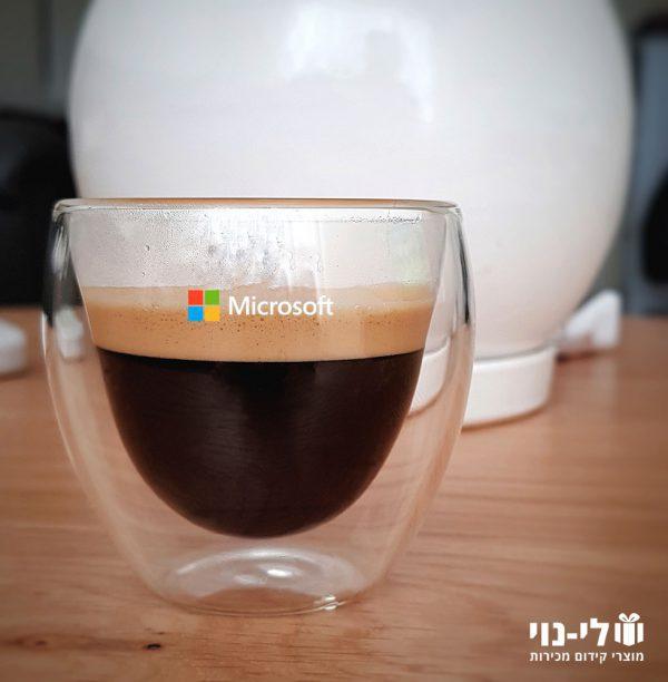 כוס אספרסו דופן כפולה