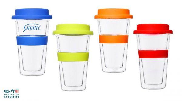 כוס זכוכית תרמית