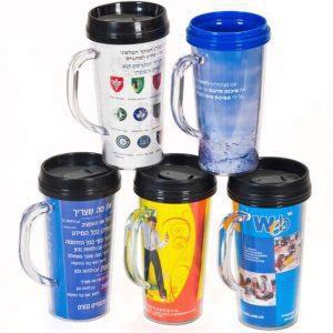 כוס טרמית פלסטיק