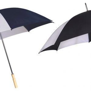 מטריה שחור לבן