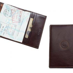 נרתיק עור לדרכון