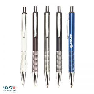 עט מתכת זברה