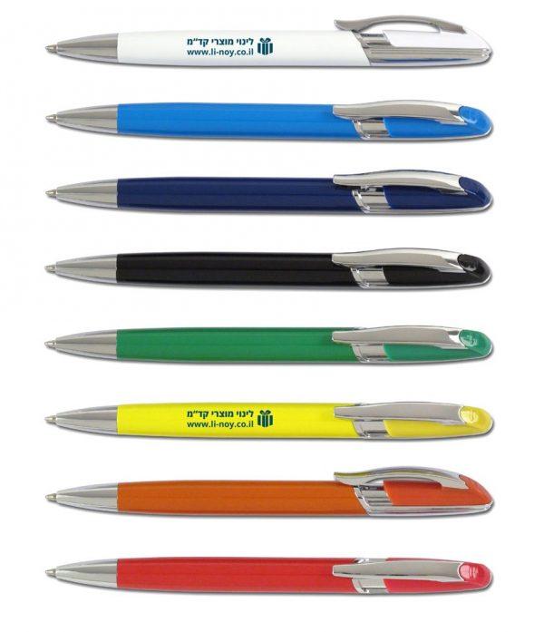 עט מתכת פיסטון