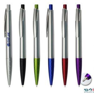 עט ספייס כסוף