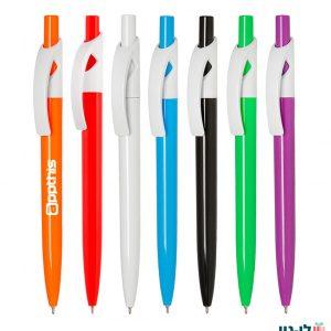 עט פלסטיק גל