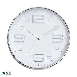 שעון קיר גדול ניקל